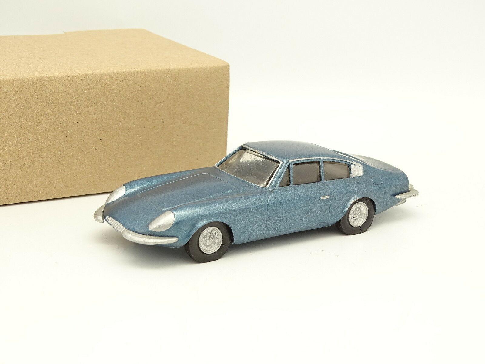 HVI Modelo Kit montado 1 43 - Ferrari 365 GT 2+2 blue