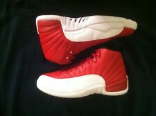 sneakers for cheap 33379 f00a7 Air Jordan 12 XII Retro Gym Red White130690 600 Men's Athletic Shoes Size 9