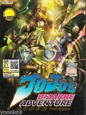 JoJo's Bizarre Adventure Vol 1-26 End DVD English Subtitle Anime ALL Region