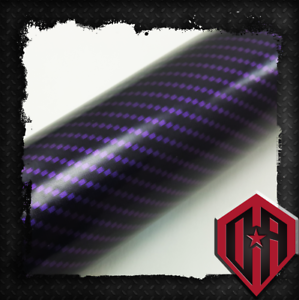 Hydrographic Water Transfer Film Hydro Dip Purple Tile Weave Carbon