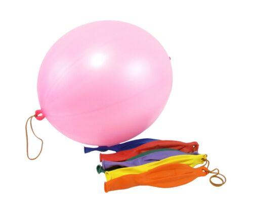 "16/"" LARGE PUNCH BALL BALLOONS Kids Children Birthday Favors Pinata Toys Gift UK"