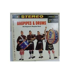 9TH REGIMENT BAGPIPE BAND - BAGPIPES & DRUMS - LP 33 rpm