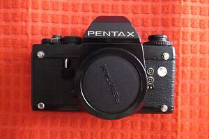 fotocamera PENTAX LX *solo corpo + mirino FA-1*