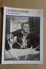 (S32) STARFILMKARTE - Laurence Olivier - Stürmische Höhen