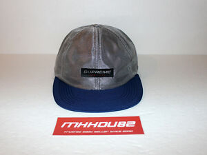 8c95d541922 New Supreme Metallic Mesh Competition 6-Panel Cap Hat Camp Spring ...