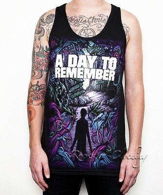 A Day To Remember T Shirt Homesick Unisex Black Shirts Singlet Tank Top S-XL