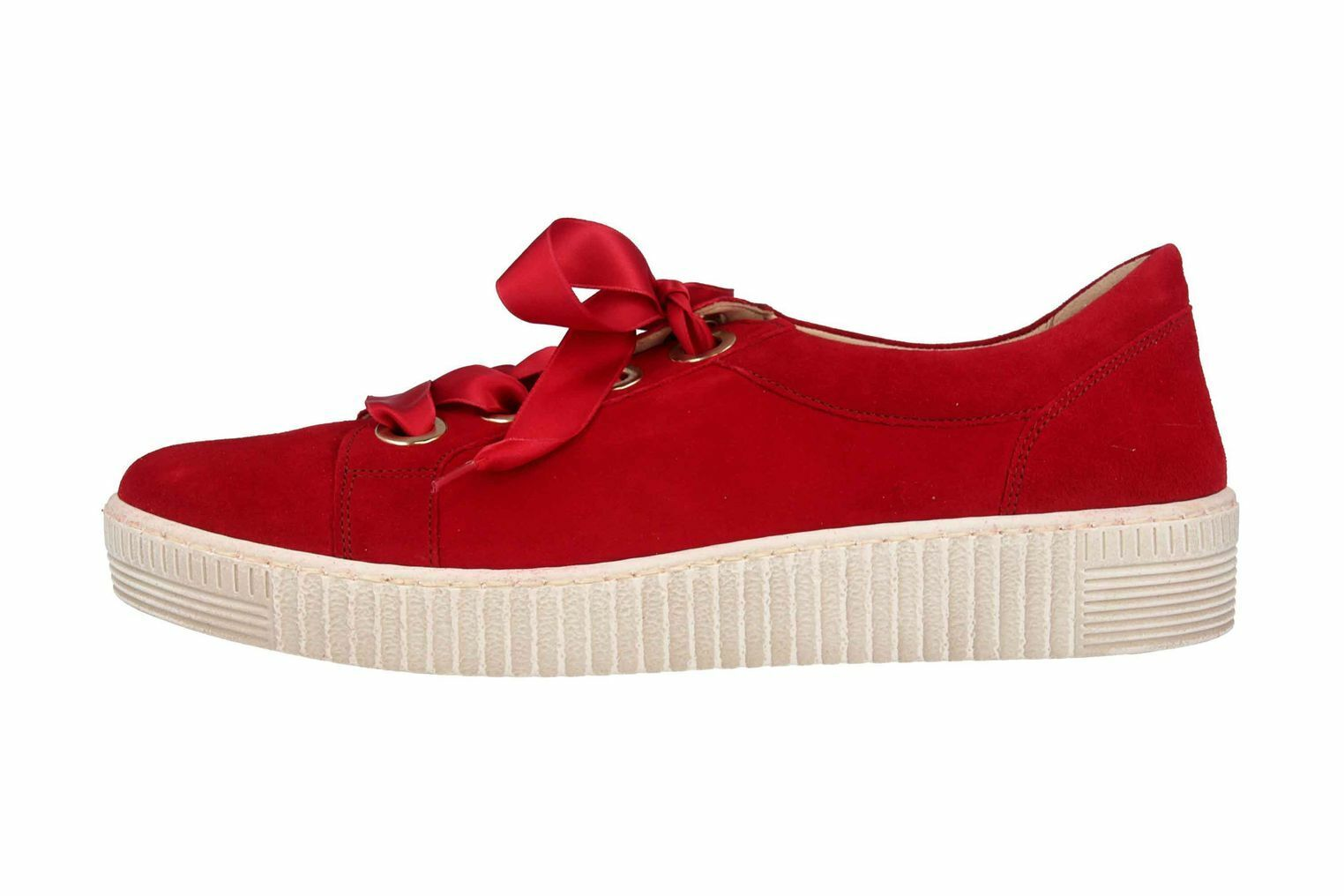 Gabor Jollys Trainer in Plus Sizes Red 23.330.10 wide Ladies shoes