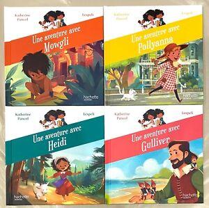 Lot de 4 livres Mc Do / Mac Do Happy Meal Série Contes Katherine Pancol