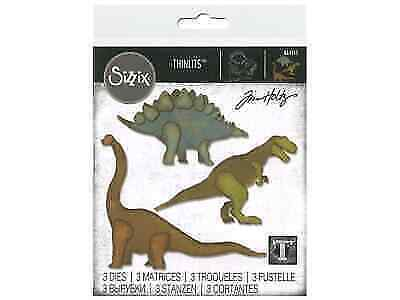 One Size Multicolor Sizzix 664159 Sculpted Dies