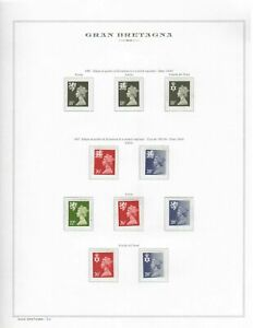 S24306-UK-Great-Britain-1987-MNH-Complete-Year-Set-6-Scans