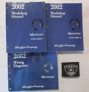 2002 FORD MUSTANG SERVICE SHOP REPAIR MANUAL & WIRING ...