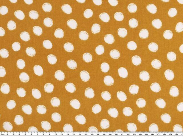 weiß-schwarz 142-145cm Punkte Viskosedruck