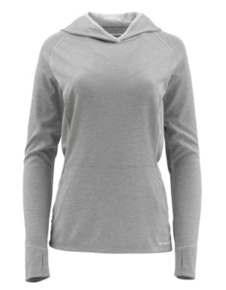 Simms - Women's  Bugstopper Hoody -Granite  Size Small - Closeout  shop now