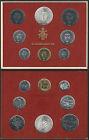 1974 Città del Vaticano Paolo VI divisionale 8 monete FDC