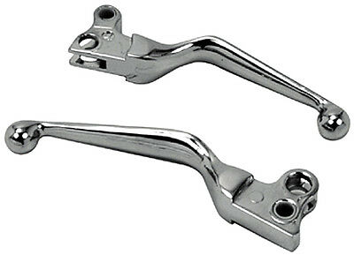 Chrome Hand Levers Brake Lever & Clutch Lever for Harley Hand Controls 82-95
