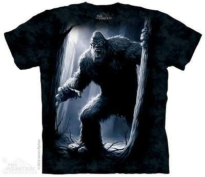 THE MOUNTAIN SASQUATCH BIGFOOT BEAST YETI FOREST ROAR TEETH T TEE SHIRT S-5XL