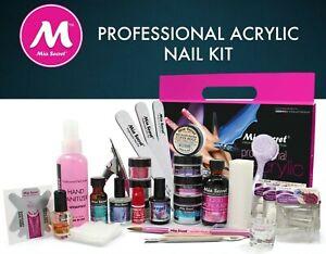 mia secret professional acrylic nail kit for beginners
