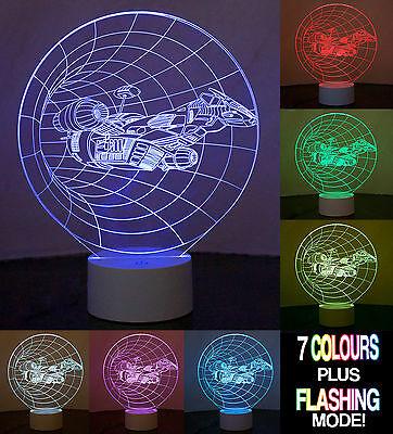 3A69 Changing 3D Lamp Base Light Visual Illusion LED Lamp Creative Christmas