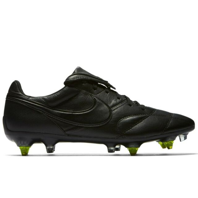 look for 5b7ea 11978 Nike Premier II SG Pro AC Soccer Cleats Mens Leather Black Volt 921397 003