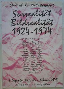 Affiche Poster-exposition Surrealität & Bildrealität - 1974-allemagne-afficher Le Titre D'origine