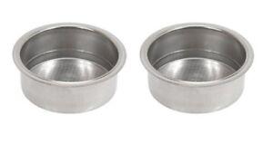 (2) Deux Tasse Espresso Filtres Pour Krups Ms620354-afficher Le Titre D'origine