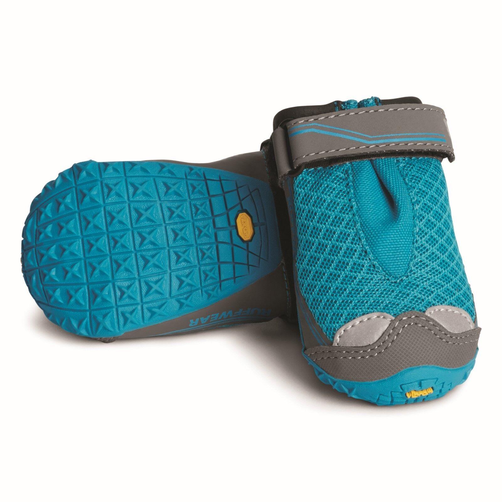 Ruffwear, Grip Trex Hundeschuhe, atmungsaktiv, 1Paar, Blau Spring (blau), 64mm   | Outlet Store Online
