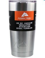 Ozark Trail 20 Oz Tumbler Stainless Steel Christmas Cocoa Cup