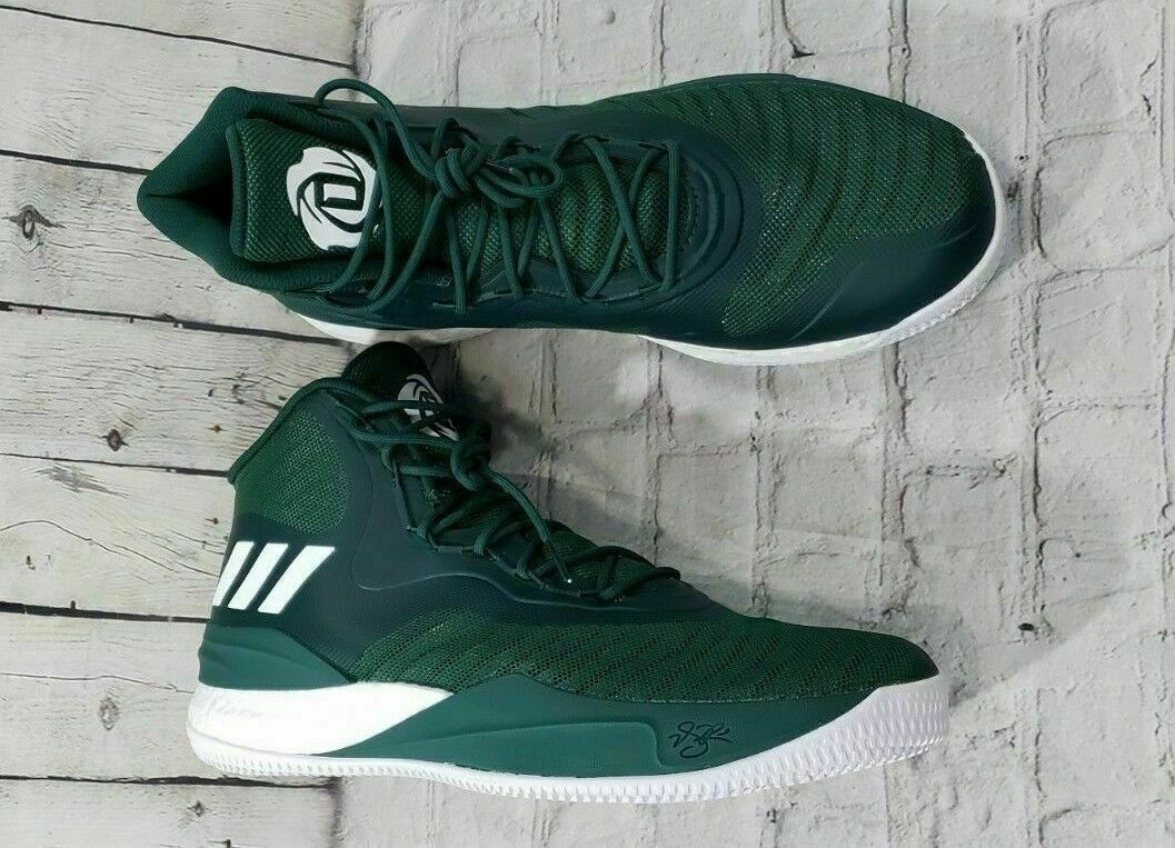 Adidas D D D pink Basketball shoes Sneaker NBA Green White New CQ1628 Men's SIZE 17 758991