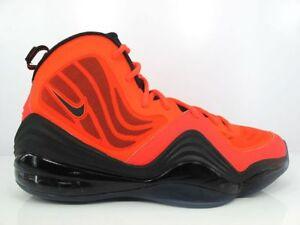 Nike-Men-039-s-Basketball-Shoes-Air-Penny-V-Total-Crimson-Black-537331-800-Size-8-10