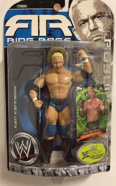 2006 WWE Ken Kennedy Ring Rage Jakks Pacific Wrestling Action Figure