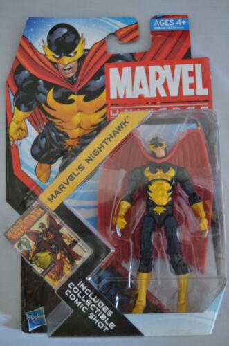"NIGHTHAWK Marvel Universe 4/"" inch Action Figure #018 Series 4 2011"