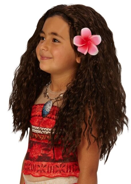 Kids Girls Black White Witch Wig Glow In Dark Hair Vampire Halloween Fancy Dress