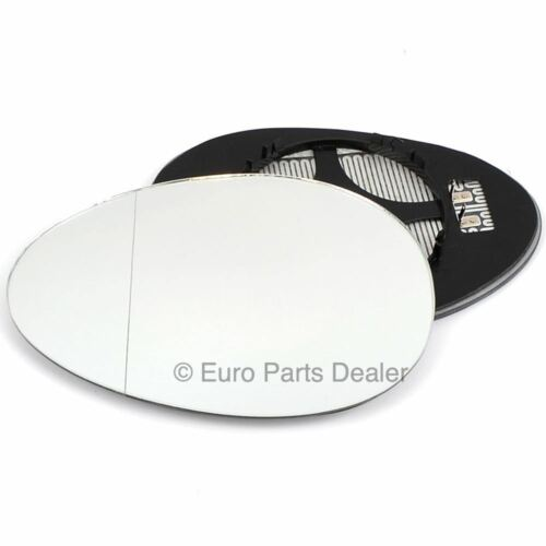 Wing mirror glass for BMW Mini Cooper 06-13 Passenger side Aspherical Electric