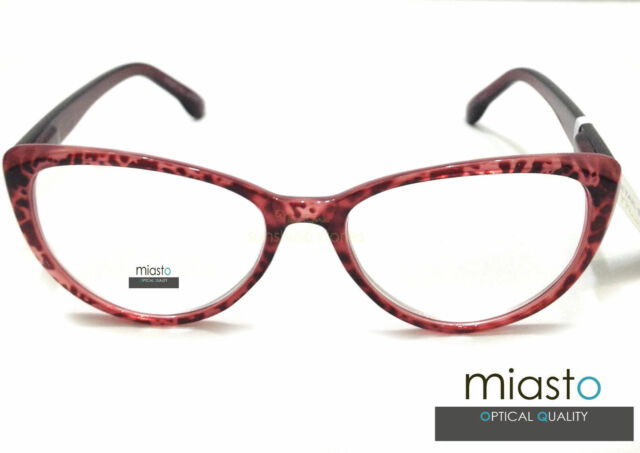 "MIASTO OVERSIZED ""BIG CAT EYE"" SEXY READER READING GLASSES SPECS+1.50"