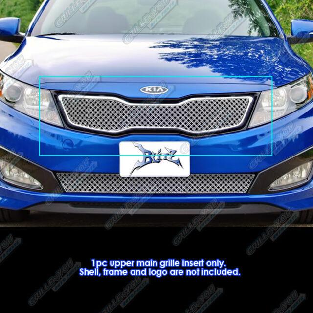 Fits 2011 2013 Kia Optima SX/EX/Hybrid Stainless Double Wire X Mesh