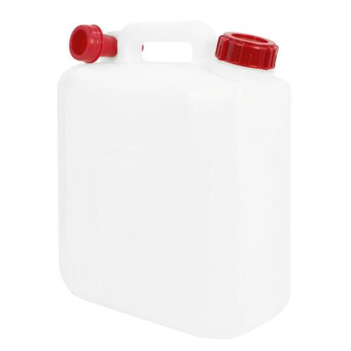 3 x 10 Litre Jerry Can Water Storage Petrol Diesel Fuel Container Spout Camping
