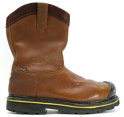Zapatos de seguridad para mujer color marr/ón ELTEN NIKOLA brown Mid ESD S2 talla 40