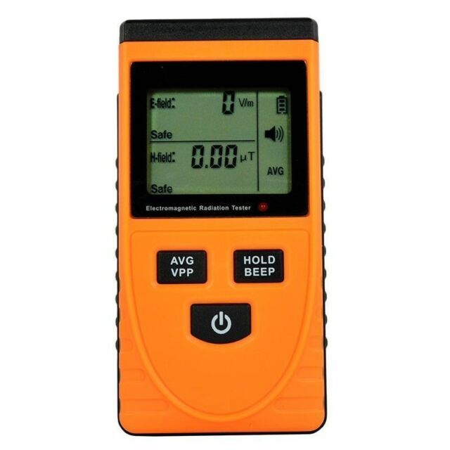 Electromagnetic Radiation Detector Electric Field Tester Meter Detector LCD