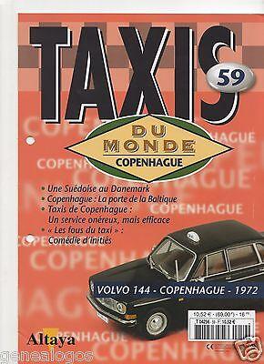 Importato Dall'Estero Libretto Altaya Taxi Dalla Mondo N.59 Volvo 144 Copenaghen 1972 Senza Miniatura Il Prezzo Rimane Stabile