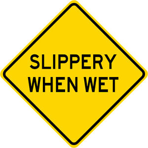 Image result for slippery when wet