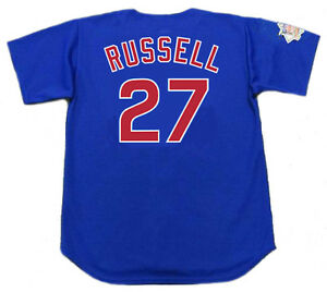 6177c23b0 Image is loading ADDISON-RUSSELL-Chicago-Cubs-Majestic -Alternate-Baseball-Jersey