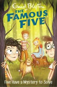 Five-Have-A-Mystery-To-Solve-Book-20-Famous-Five-Blyton-Enid-New