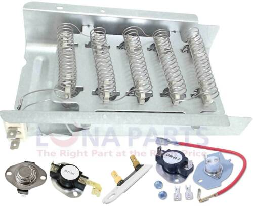 NED4600YQ1 AMANA DRYER HEATING ELEMENT THERMOSTAT AND FUSE KIT