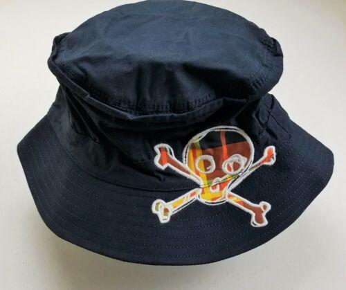 Boys CRAZY 8 by Gymboree navy blue skull sun hat cap 4 5 6 7 8 10 12 14 NWT
