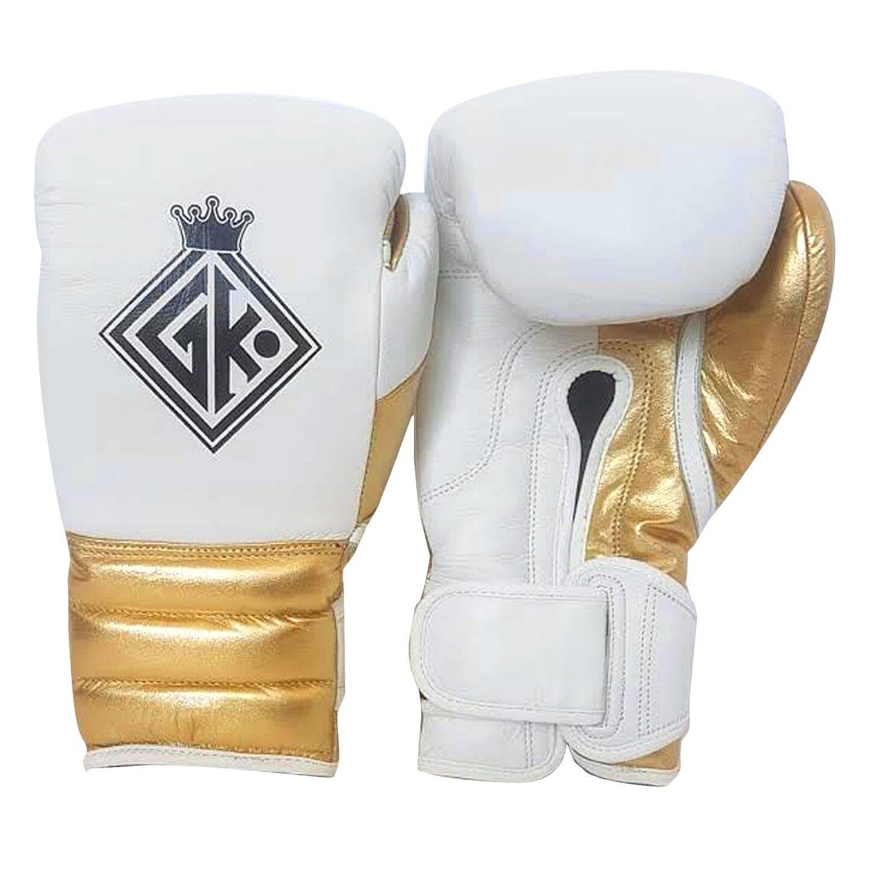 GLOVE KINGS GK BOXING GLOVES GOLD UFC INSPIROT BY GRANT WINNING CLETO REYES