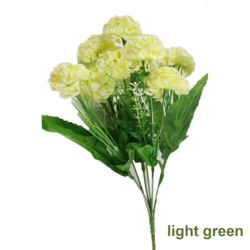Bush Grass Outdoor Fake Flower Artificial Hydrangea Silk Bouquet False Plants