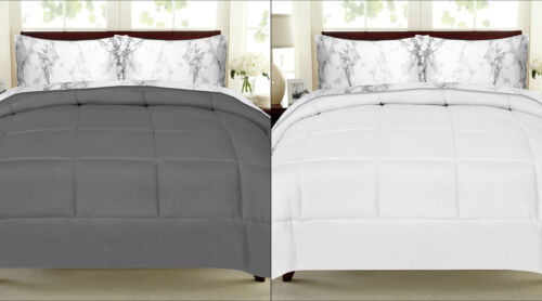 Sweet Home Collection Bed-In-Bag Comforter /& Marble Print Sheet Set