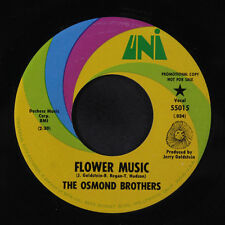 OSMOND BROTHERS: Flower Music / I Can't Stop 45 (dj) Rock & Pop