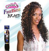 Freetress Premium Synthetic Hair Braid Crochet - Deep Twist Bulk 22