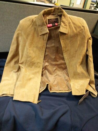 L Jacket Siena Sz Siena Suede Suede X7OWq